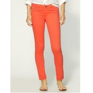 "AG ""The Legging Ankle"" Skinny in Bright Peach"